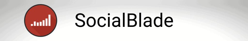SocialBlade - Twitter analytics
